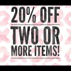 Bundle and save on 2 + items